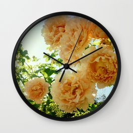 Summery Wall Clock