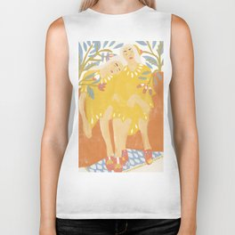 Botanical Girls Biker Tank