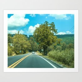 The Country Art Print