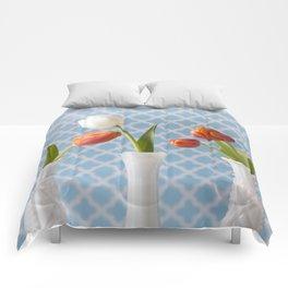 Spring Line Up - Tulips Comforters