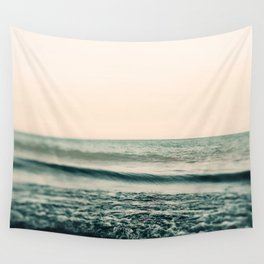 Turquoise Morning Wall Tapestry