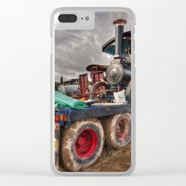 The Burrell Loader Clear iPhone Case