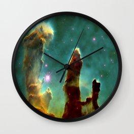 The Pillars of Creation in the Eagle Nebula (NASA/ESA Hubble Space Telescope) Wall Clock