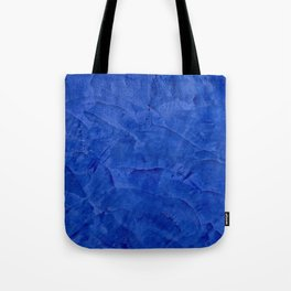 Dark Blue Ombre Burnished Stucco - Faux Finishes - Venetian Plaster - Corbin Henry Tote Bag
