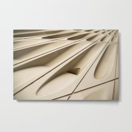Architectural abstract of the Broad (rhymes with road), Los Angeles, California Metal Print