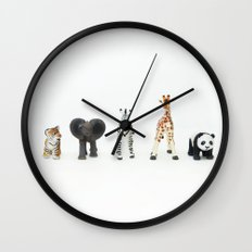 ANIMALS COLLECTION N2 Wall Clock