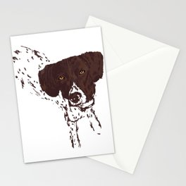 German Shorthaired Pointer Stationery Cards