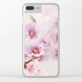 Blossoms greet spring Clear iPhone Case