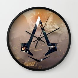 Jacob and Evie Frye, Master Assassins of Industrial London Wall Clock