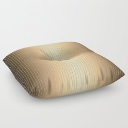 Traditional Japanese pattern MIJINSUJI Floor Pillow