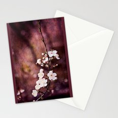 Purple Spring Stationery Cards
