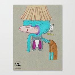Squidward Canvas Print