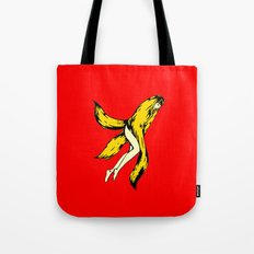 banana red Tote Bag
