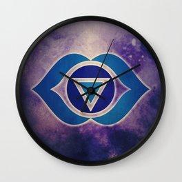 AJNA Chakra Wall Clock