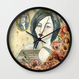 Frances Bean Cobain Wall Clock