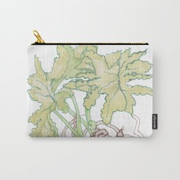 Philodendron Two Carry-All Pouch
