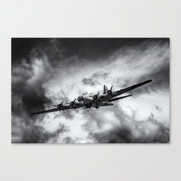 Through The Clouds Canvas Print