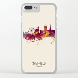 Sheffield England Skyline Clear iPhone Case