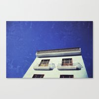spanish Canvas Prints featuring Spanish House by Martin Llado