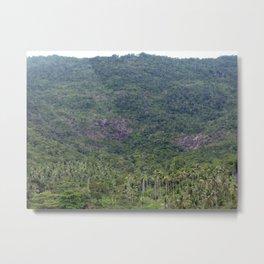 Palmtree island Metal Print