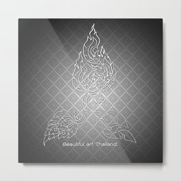 Art of Thailand. Metal Print