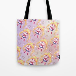 Sailor Moon Crystal Pattern Tote Bag