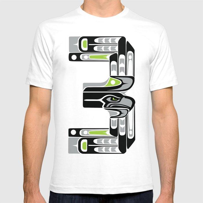 Seattle 3 - Black T-shirt
