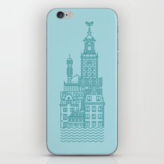 Stockholm (Cities series) iPhone & iPod Skin