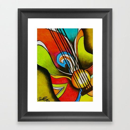Untitled (Guitar)  Framed Art Print