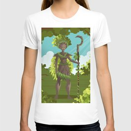 dryad nature tree forest guardian T-shirt
