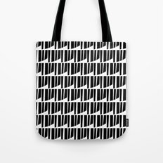 Westfranke Black & White Pattern Tote Bag