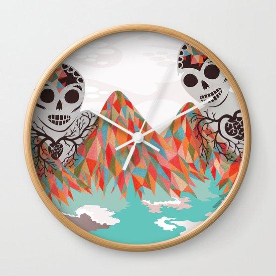 Spectres Wall Clock