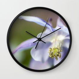 The beauty of a flower Wall Clock