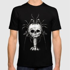 Curiosities - The Fontanelle. X-LARGE Black Mens Fitted Tee