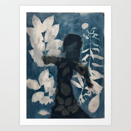 Coming out of Blue Art Print