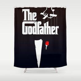 The Godfather, 1972 (Minimalist Movie Poster) Shower Curtain
