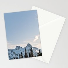 Mountain Ridge in the Sun Stationery Cards