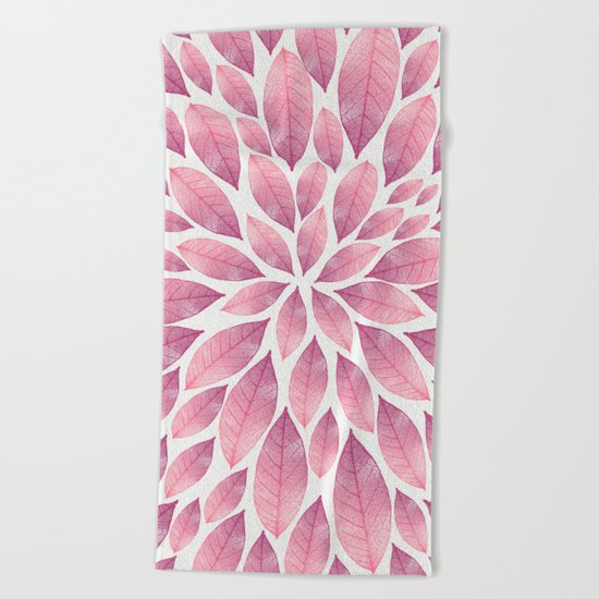 Petal Burst #10 Beach Towel