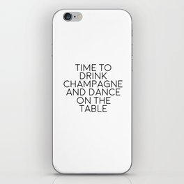 Party Decorations Chamapage Gift Party Like Gatsby Birthday Decorations Bar Decor Quotes Champagne iPhone Skin