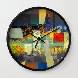 internal struggle 1f Wall Clock