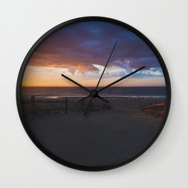 Beach Sunrise, LBI, NJ Wall Clock