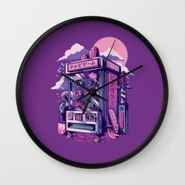 Retro gaming machine Wall Clock