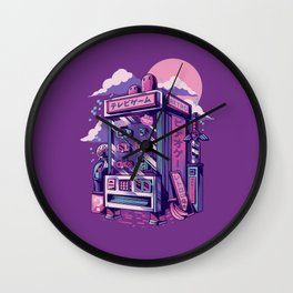 Retro gaming machine Wall Clock