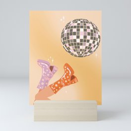 70's Disco Print Mini Art Print