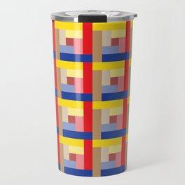 Sundial (Yellow, Red, Blue, Brown) Travel Mug