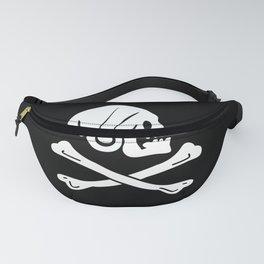 Henry Every Pirate Flag - Jolly Roger Skull Fanny Pack