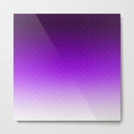 Viola , plum , Ombre Metal Print