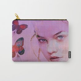Isabelle and butterflies fork Carry-All Pouch