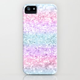 Unicorn Girls Glitter #11 #shiny #pastel #decor #art #society6 iPhone Case