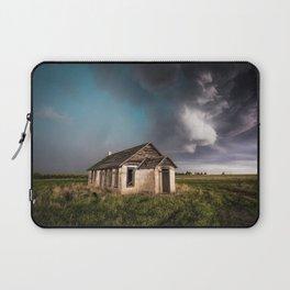 Pioneer - Abandoned Settlement Under Storm On Colorado Plains Laptop Sleeve